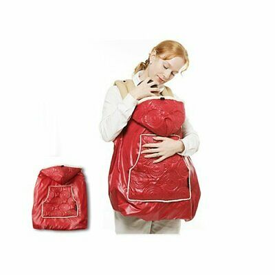 Manito Shiny Skin Infant Carrier Warmer / Bunting / Stroller Footmuff - Red (4 A
