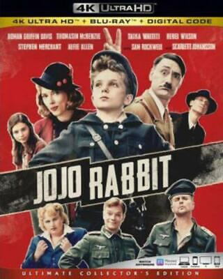 JOJO RABBIT (4K ULTRA HD (BLU RAY) Region free.)