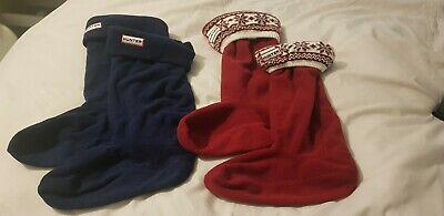 Ladies Hunter Welly Warmers Size M 3-5