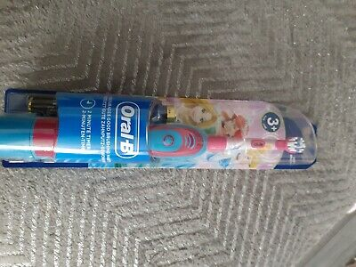 Braun Oral-B Stages Kids Electric Toothbrush Disney Princes for Children