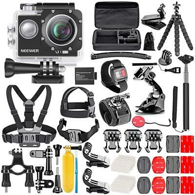 GoPro Ultra HD 4K Action Kit Includes 98 ft Camera + 50 Piece Accessory Kit