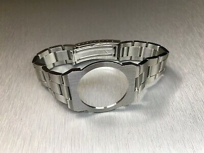 Solid Stainless Steel Bracelet Strap For Omega Dynamic Geneve Watch