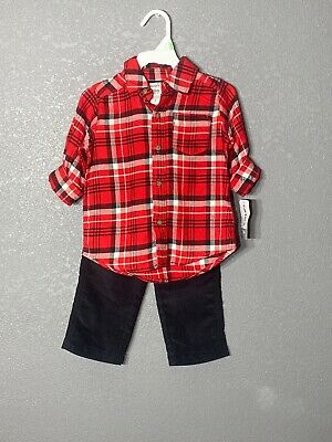 Carter's Shirt & Pants Outfit Set Baby Boys 18 month NWT