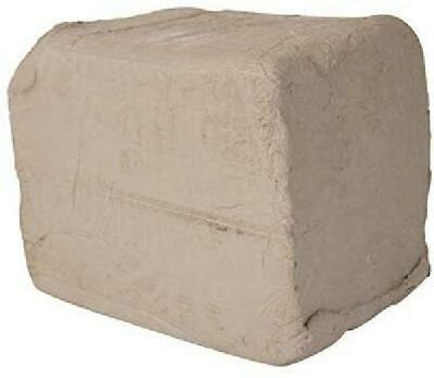 AMACO Low Fire Plastic Earthenware Versa Clay 50 Pounds White