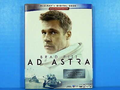 Ad Astra - Brad Pitt, Tommy Lee Jones & Ruth Negga (Blu-ray with Slipcover)