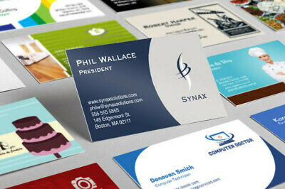 Professional Custom Business Card Design With Source File - Unlimited Revisions