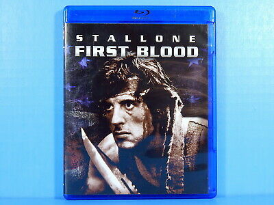 First Blood: Rambo - Sylvester Stallone (Blu-ray) Like New