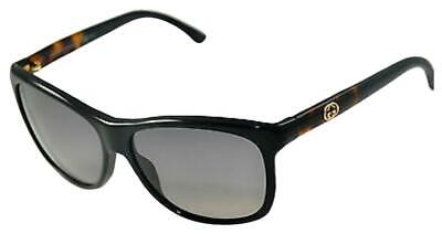 Gucci  Sunglasses   3613  Black  Havana 6Eseu 57/14/135Mm   Small Scratch