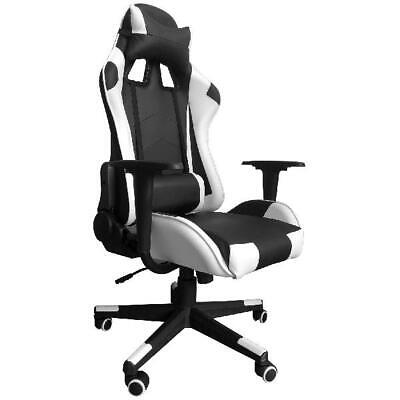 High-Back Swivel Gaming Chair Ergonomic Office Desk Chair with Lumbar Support