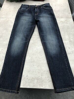 Boys Dark Blue Denim jeans, Next, age 13 years, very good condition