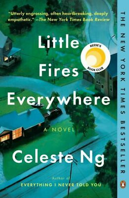 Little Fires Everywhere by Celeste Ng (2019, Paperback)