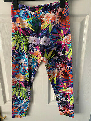 Gorgeous River Island multicoloured leggings age 11-12. Good cond!