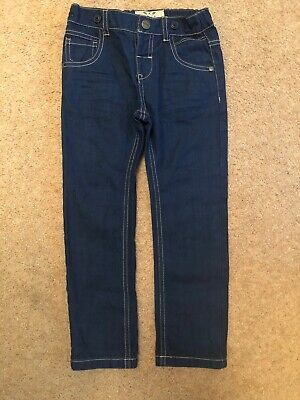 NEXT Boys Jeans Age 4-5 New With Tags Pull On Elasticated Waist