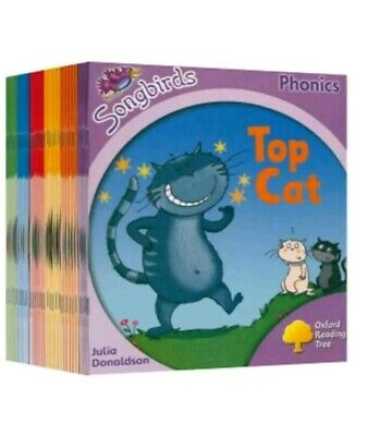 Oxford Reading Tree Songbirds Collection 36 Phonics Book Set Level 1 2 3 4 5 6