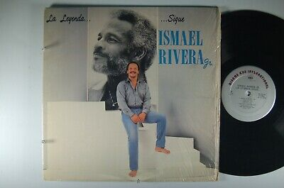 ISMAEL RIVERA Jr. La Leyenda Sigue LATIN LP Shrink CBS