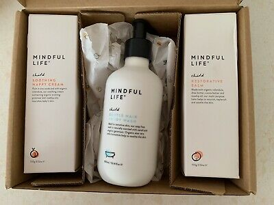 Mindful Life Baby Wash, Nappy Cream And Body Balm