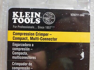 Klein Tools VDV211-048 Compression Crimper