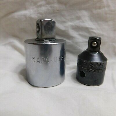 "Pair of NAPA Drive Adapters 1/2"" to 3/8"" & 3/4"" to 1/2"""
