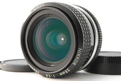 [Excellent+5] Nikon NIKKOR AI 28mm F2.8 f/2.8 camera lens from Japan