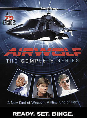 Airwolf: The Complete Series (DVD, 2016, 14-Disc Set) - NEW!!