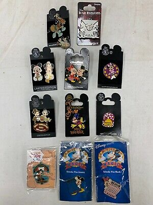 Disney Pin Trading Pins lot of 11 Mickey and Minnie  Mouse pins (D) LQQK
