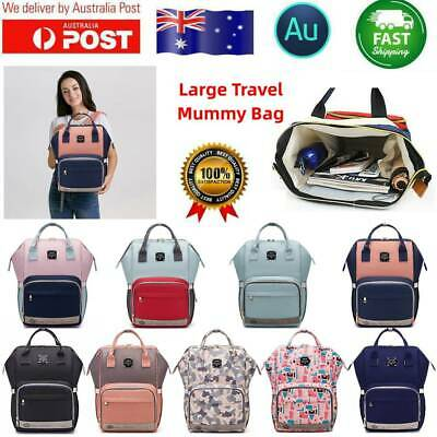 Multifunctional Mummy Maternity Nappy Diaper Bag Baby Bag Large Travel Back RM#