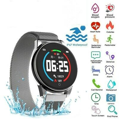 Smart Watch Running Pedometer Heart Rate Sport Blood Pressure Fitness Tracker SL