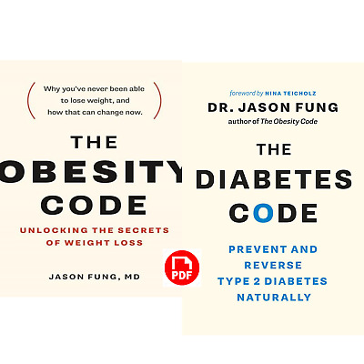 The Diabetes Code & The Obesity Code By Jason Fung [P-D-F] ⚡Fast Delivery⚡