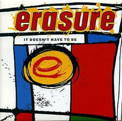 "Erasure It Doesn't Have To Be UK 7"" vinyl single record MUTE56 MUTE 1987"