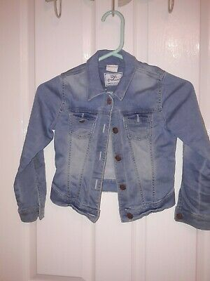 Florence And Fred Girls Denim Jacket Age 6 To 7 Years