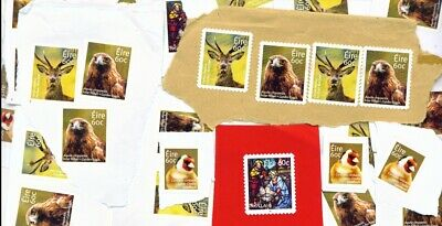 IRELAND - 100 x 60c Unfranked Stamps on Paper (60 Euros total) FREE Postage