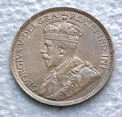 Canada 1918 Large Cent BU Red Brown Choice UNC Details