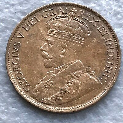 1912 CANADA LARGE 1 CENT MS CHOICE UNC 1 Cent