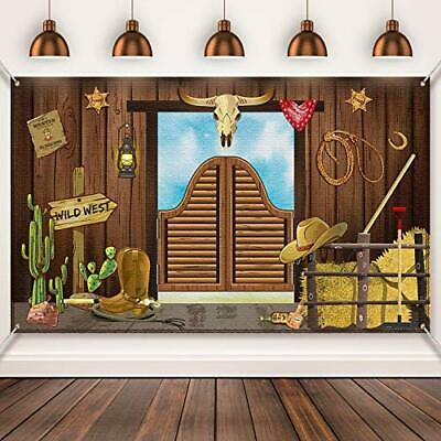 2pc WESTERN Yeehaw WALL POSTER DECORATING KIT ~ Birthday Party Supplies Country