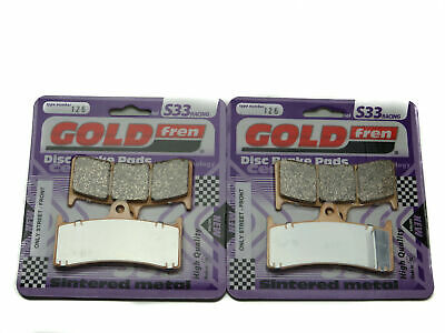 Goldfren S33 Brake Pads Front For Kawasaki ZX7-RR (ZX 750 N1/N2) 1996-1999