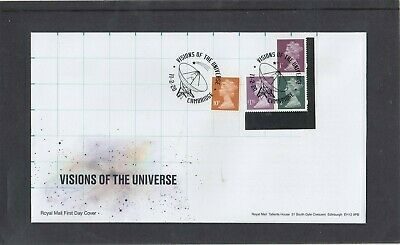 GB 2020 Machin Definitives 1p 10p £1.35 M19L MPIL ex Visions Prestige SB RM FDC