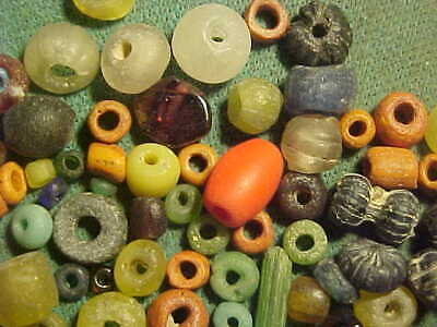 100 + Small Roman beads  circa 1st-4th century AD.