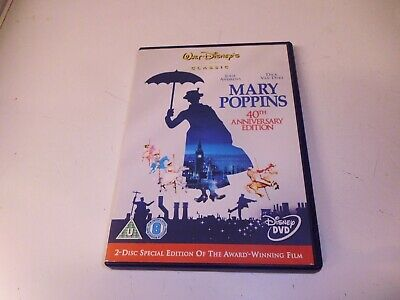 Mary Poppins 40Th Anniversary Edition Dvd - 2 Disc Special Edition