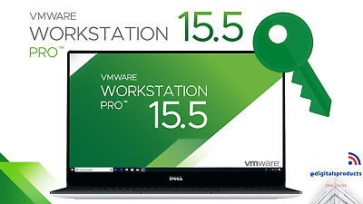 ✅VMware Workstation 15.5 Pro License Key Full Version for Windows 5PC Lifetime✅