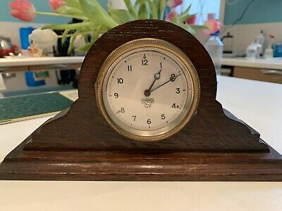 Antique Wooden Smiths Carriage Clock
