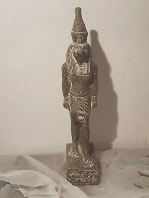 Rare Antique Ancient Egyptian Statue God Horus Falcon protection Sky1760-1690BC