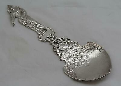 Antique Gorham Sterling Silver H78 Queen Elizabeth I Large Figural Serving Piece