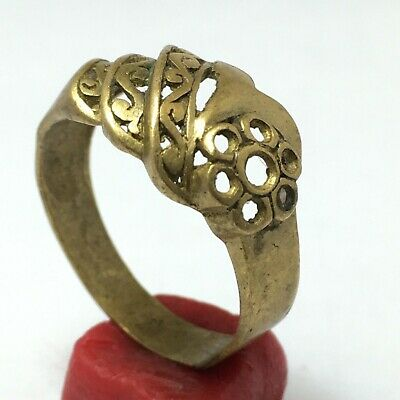 ANCIENT RARE RING Extremely Ring Bronze Legionary Roman Old Authentic Artifact