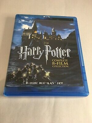 Harry Potter: Complete 8-Film Collection Set, Blu-Ray (*MISSING LAST DISC*)