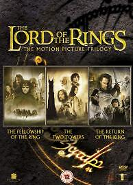 The Lord Of The Rings Trilogy DVD Fellowship, Two Tower, The Return of the King
