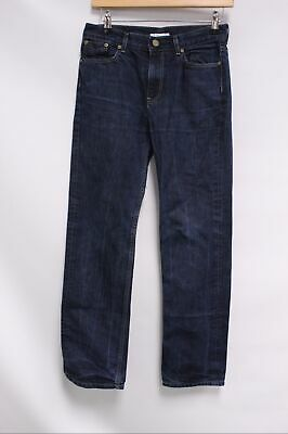 Kids Boys BURBERRY Dark Blue Denim Straight Leg Jeans Size 14yrs - C16