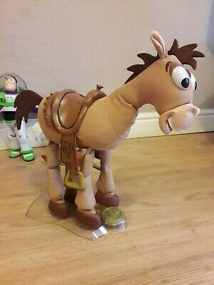 Toy Story Woody s Horse Bullseye Signature Collection With Stand Pixar Thinkway