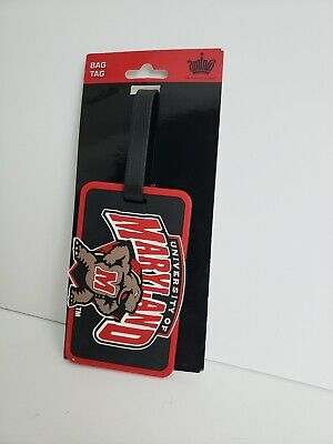 Aminco Bag Tag University of Maryland  Tag For Suitcases Backpacks luggage