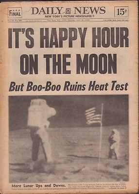 Daily News April 22 1972 John Young The Moon Jack Nicklaus 011719DBE2