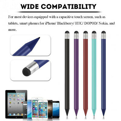 Stylus Pen Capacitive Touch Screen High Sensitivity Pencil Ultra Fine Tip white